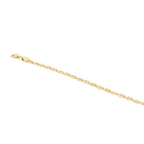 Pulsera Oro 18kt Modelo Hojas