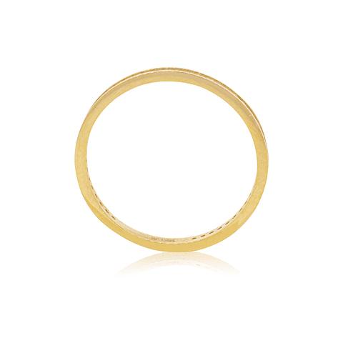 Anillo Oro 18kt Sin fin circón