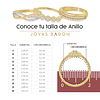 Anillo Oro Blanco  18kt con diamantes con Zafiro Natural