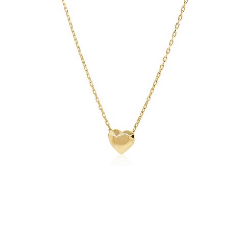 Collar Oro 18kt Corazón.