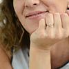 Anillo Oro 18kt Roseta en Flor