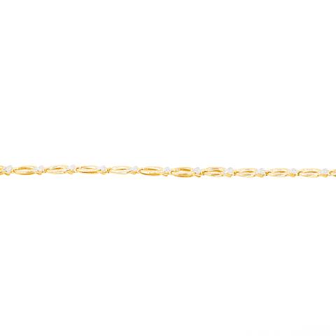 Pulsera Oro 18kt Bicolor.