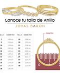 Argollas Oro 18kt Bicolor Diva Tubo 5,0mm Oro Rosa Miel.