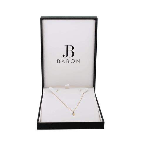 • Collar de Oro 18kt Ala Diamante.