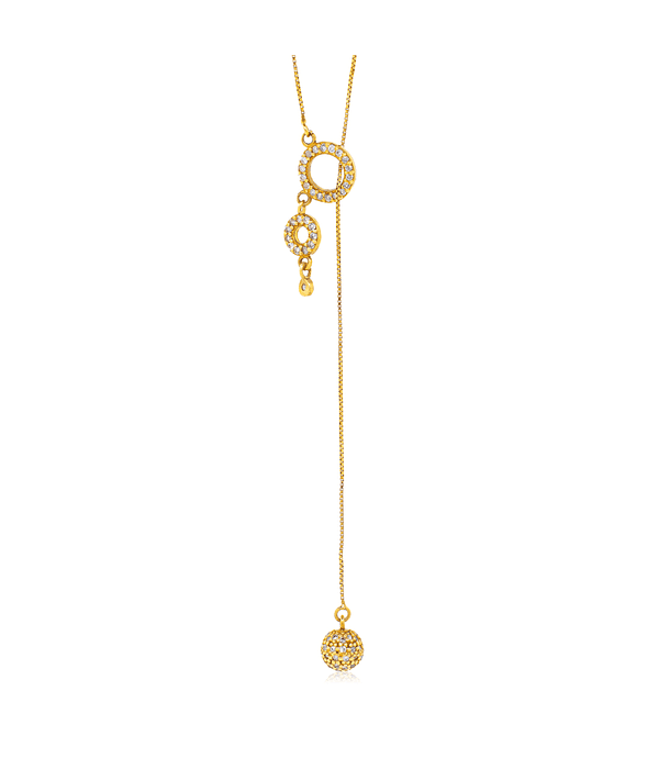 • Collar de Oro 18kt  Diamante.