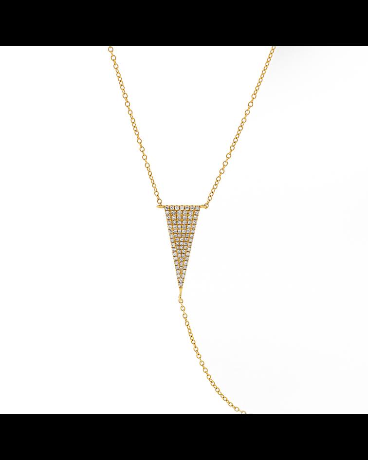 Collar Oro 18kt Diamantes.