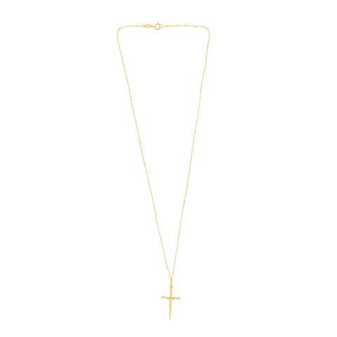 Collar Oro 18kt Cruz