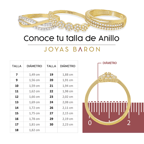 Argollas Oro 18kt Bicolor Count Ingles 5,0mm Oro Amarillo.