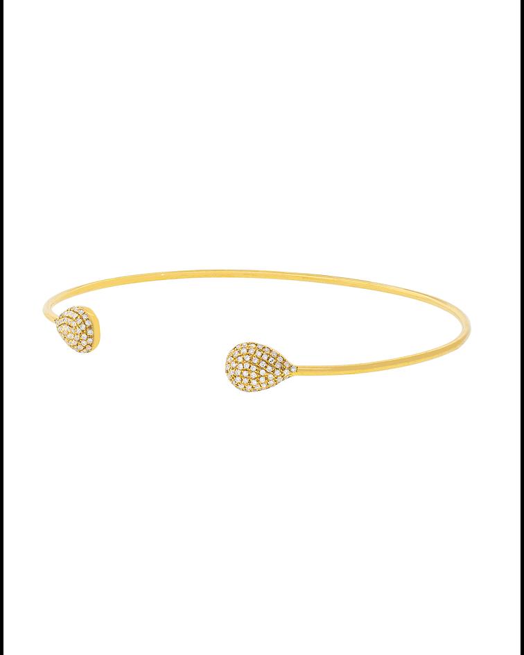 Esclava oro Amarillo 18kt  Diamantes