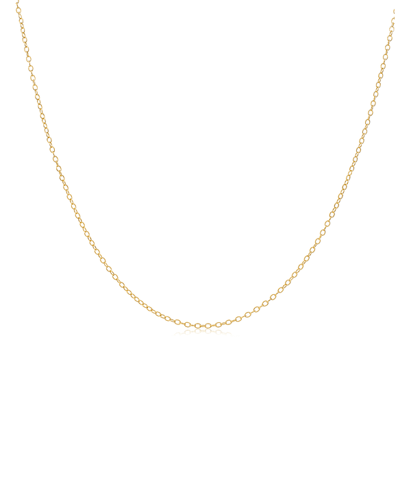 Cadena oro amarillo 18kt Limada