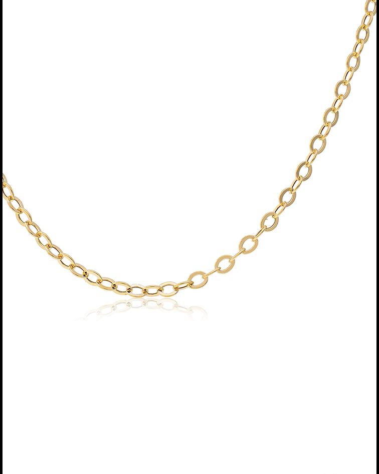 Cadena oro amarillo 18kt Espejo