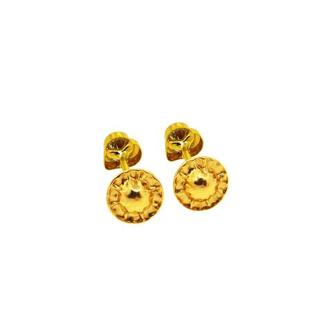 Aros Oro 18kt Circones Corazon 3,5mm