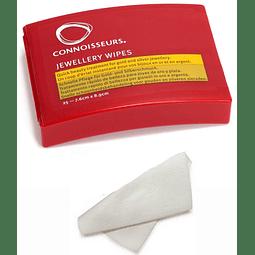 Paños Limpiadores De Joyas Dispensador Connoisseurs Wipe