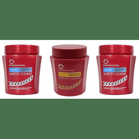 Pack 3 Limpiadores De Joyas (2 De Plata - 1 De Oro)
