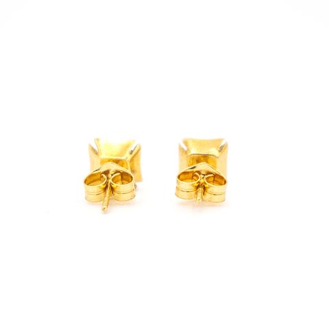 Aros Oro 18kt con Circón de 1/2 quilate