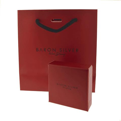 Collar Plata Italiana 925 modelo filigrana