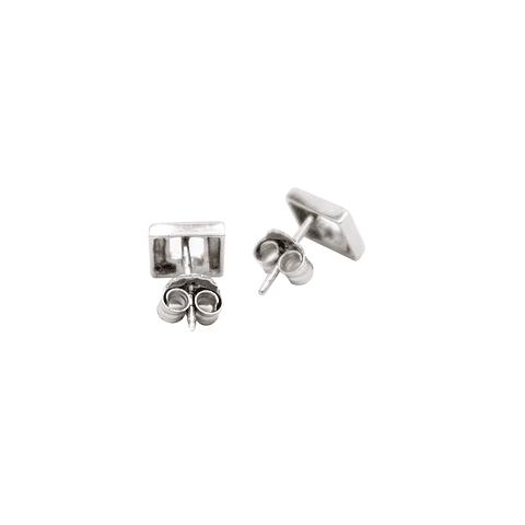 Aro Oro Blanco 18kt Diamantes