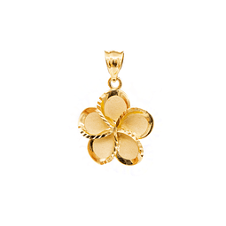 Colgante de Oro 18 kt Modelo Flor