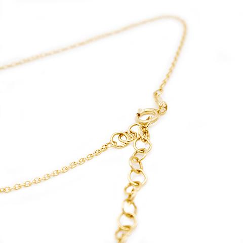 Collar de Oro 18Kts. más Colgante Corazón