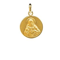 Colgante de Oro de 18Kts. Modelo Sagrado Corazón