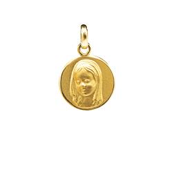 Colgante de Oro de 18Kts. Modelo Virgen Niña