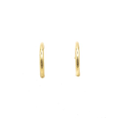 Aros de Oro de 18Kts. Modelo Argolla