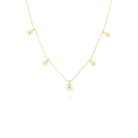 Collar Oro 18kt Perla Cultivada