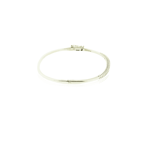 Pulsera Oro Blanco 18kt Diamantes ½ Quilate