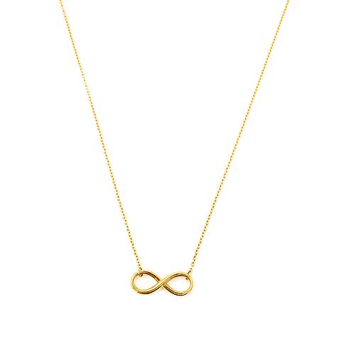 Collar de Oro 18 Kt Modelo Infinito 4,0 grs