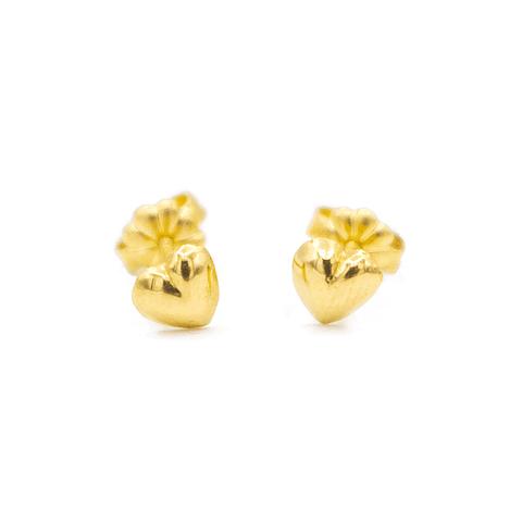 Aro de Oro 18 Kt Modelo Corazón 0,9 grs