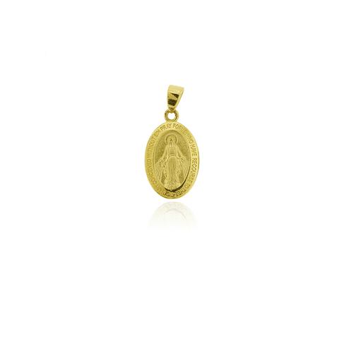 Colgante Oro 18kt Virgen de los Rayos 11mm