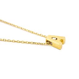 Cadena de Oro 18 Kts., Letra A 2,1 grs.
