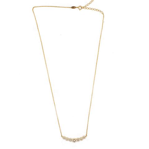 Collar de Oro 18 Kts., Modelo Circones con 55 Circones