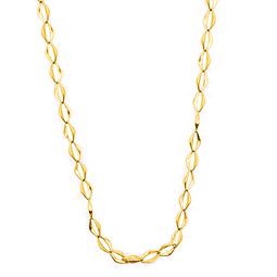 Collar de Oro 18 Kts., Modelo Rombo