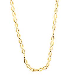 Collar de Oro 18 Kt., Modelo Rombo