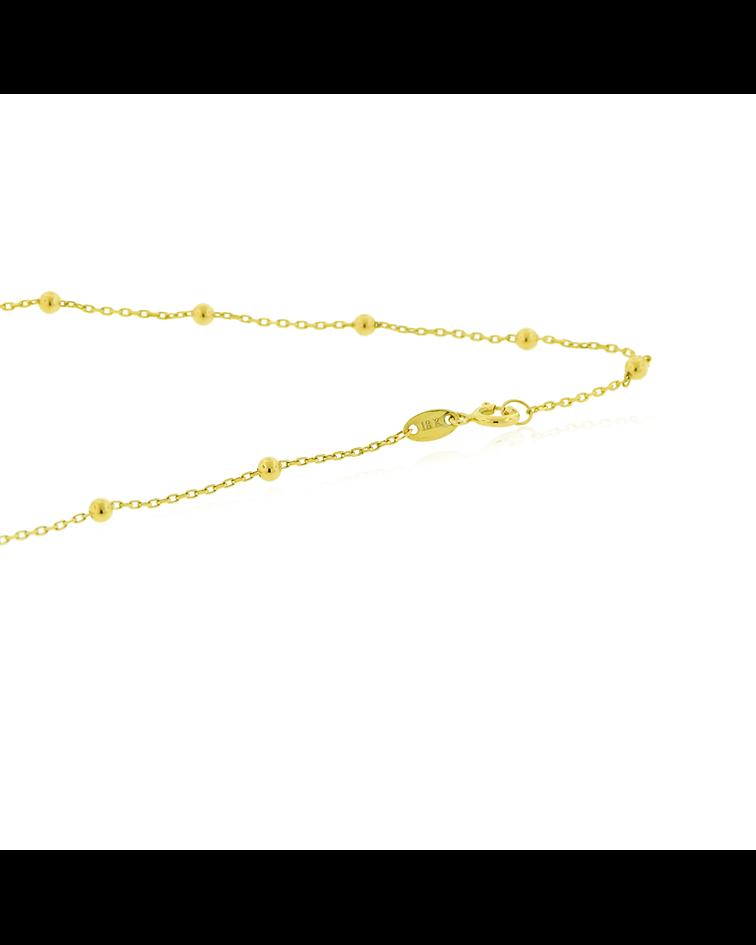 Collar Oro 18kt Trio Trebol