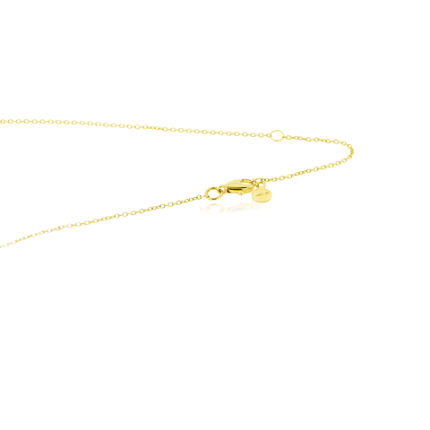 Collar Oro 18kt Corazones Tricolor