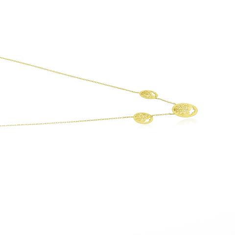 Collar Oro 18kt Árbol de la Vida