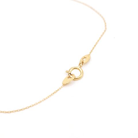 Collar de Oro 18kt Modelo Infinito