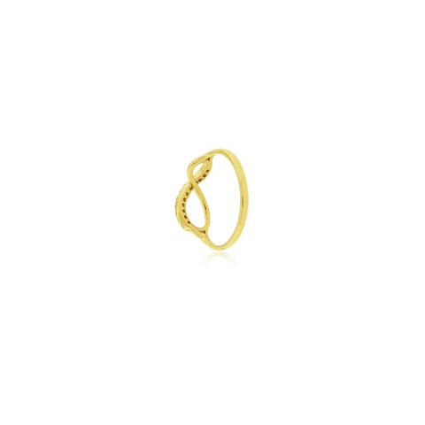 Anillo Oro 18kt Infinito Circones