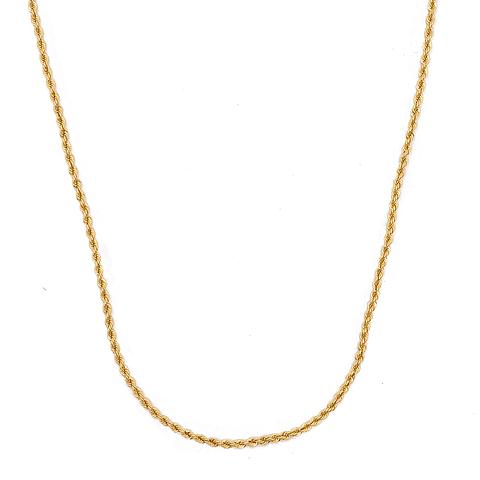 Collar de Oro 18 Kts. Modelo Turbillón