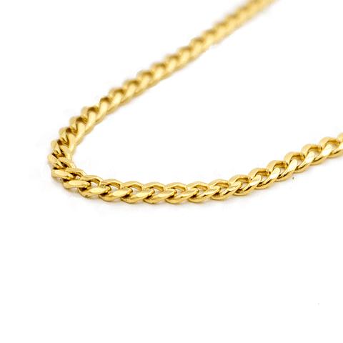 Collar de Oro 18 Kts., Modelo Groumet 21 grs.