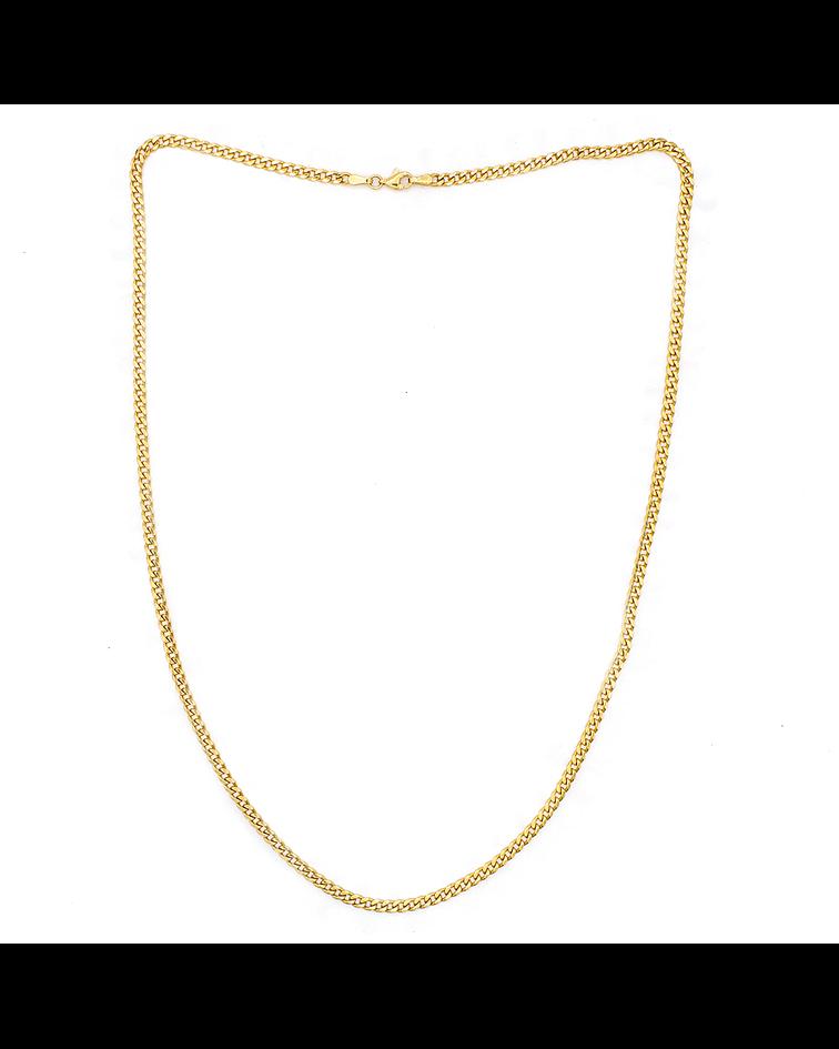 Collar de Oro 18 Kts., Modelo Groumet
