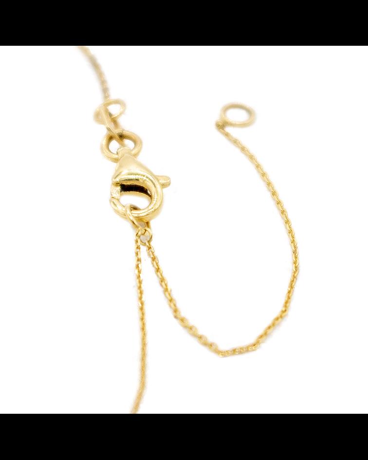 Collar de Diamante Oro de 18 Kts. Búho