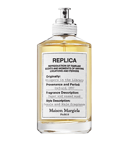 Replica Whispers in the Library Maison Margiela - Decants