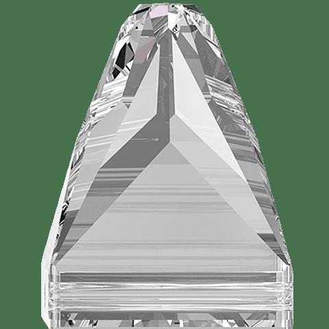 SQUARE SPIKE SWAROVSKI SEW ON 10,0 x 10,0 MM CRYSTAL 001