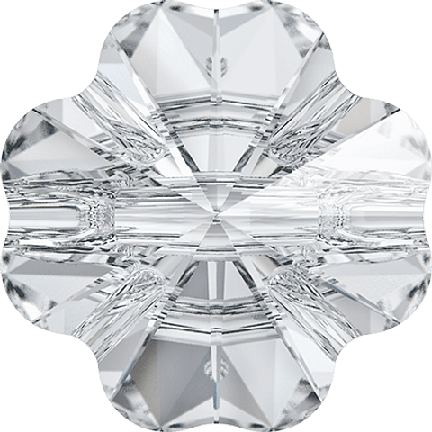SWAROVSKI CLOVER CRYSTAL BUTTON