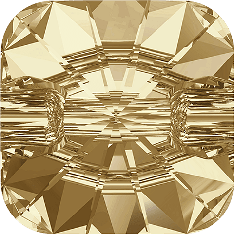 BOTON SQUARE  GOLDEN SHADOW  12,0 MM