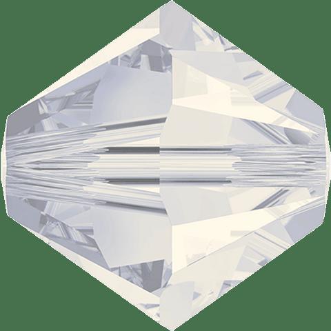 BEADS WHITE OPAL 4 MM