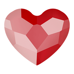 CORAZON ROYAL RED 3,6 mm FLAT BACK